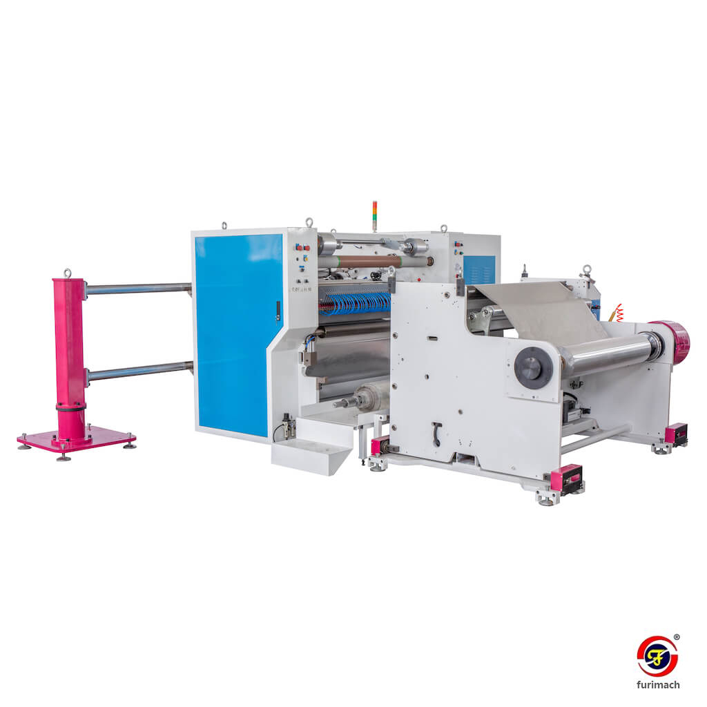 FR-2441A Aluminum Tape Slitting Rewinding Machine
