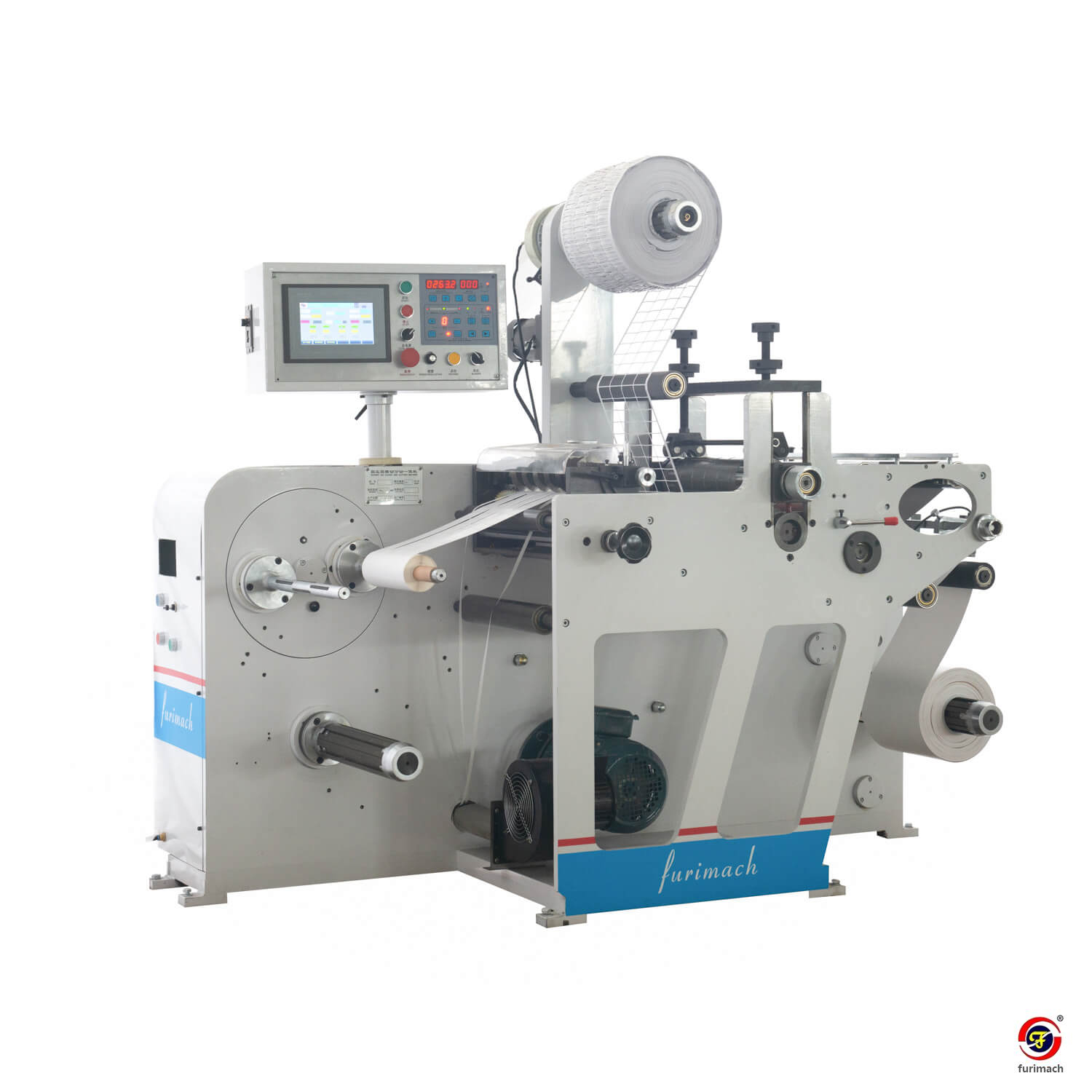 DCR-320Y Label Rotary Die Cutting and Slitting Machine