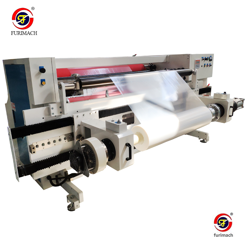 FR-4211 Automatic PE Protective Film Rewinding Machine